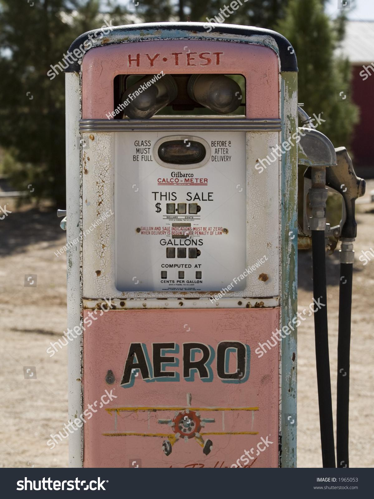 Vintage Gas Pump Stock Photo (Edit Now) 1965053 - Shutterstock