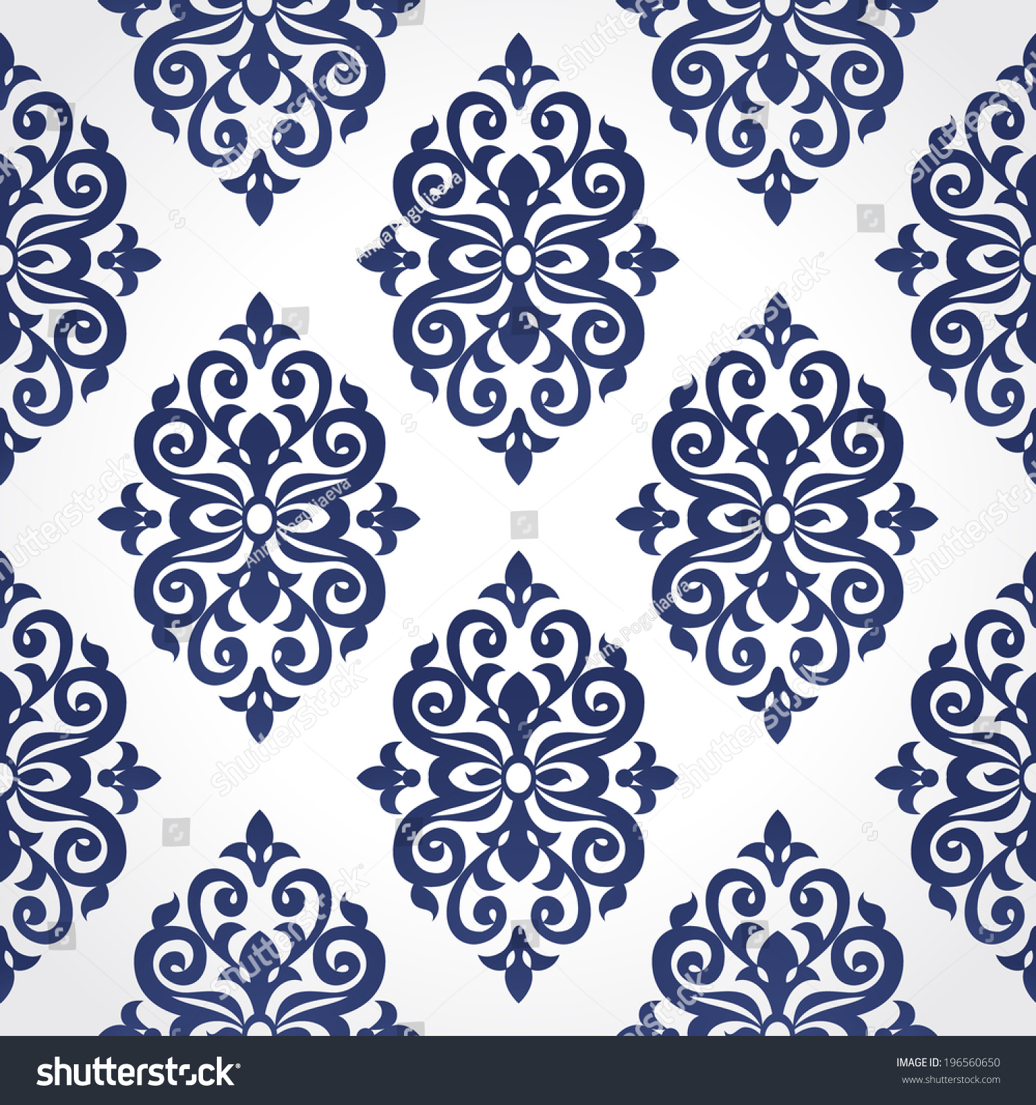 Victorian Design vector seamless pattern victorian style element stock vector