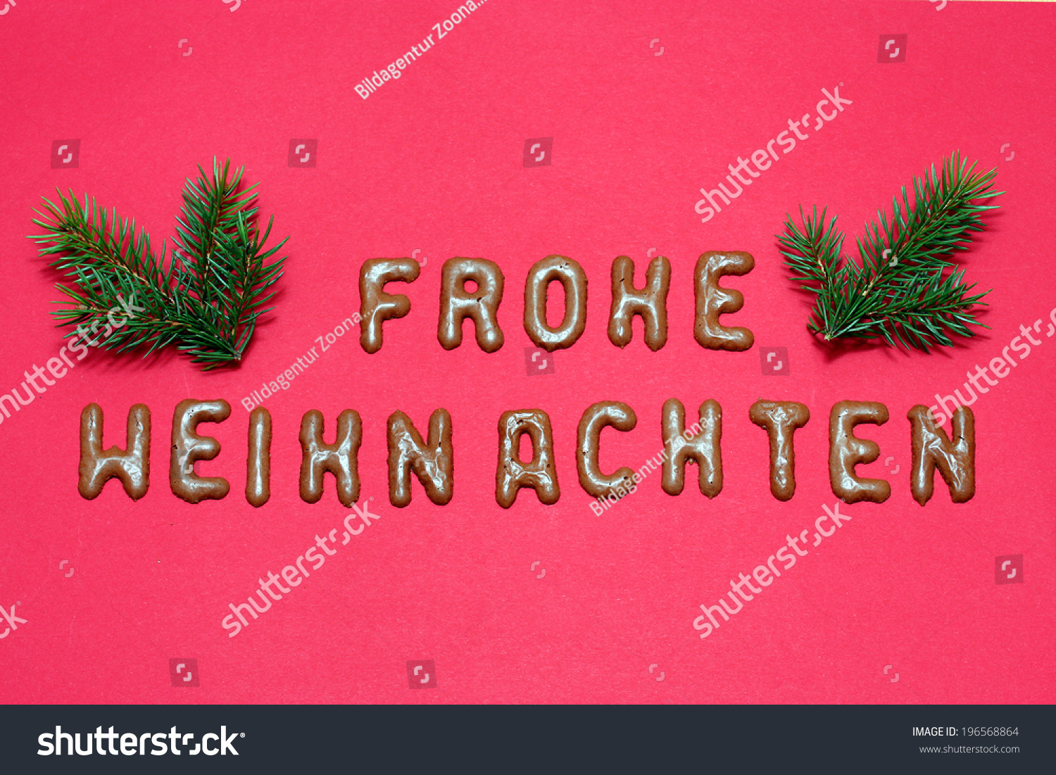 How Do You Say Merry Christmas In German.Merry Christmas German Language Stock Illustration 196568864