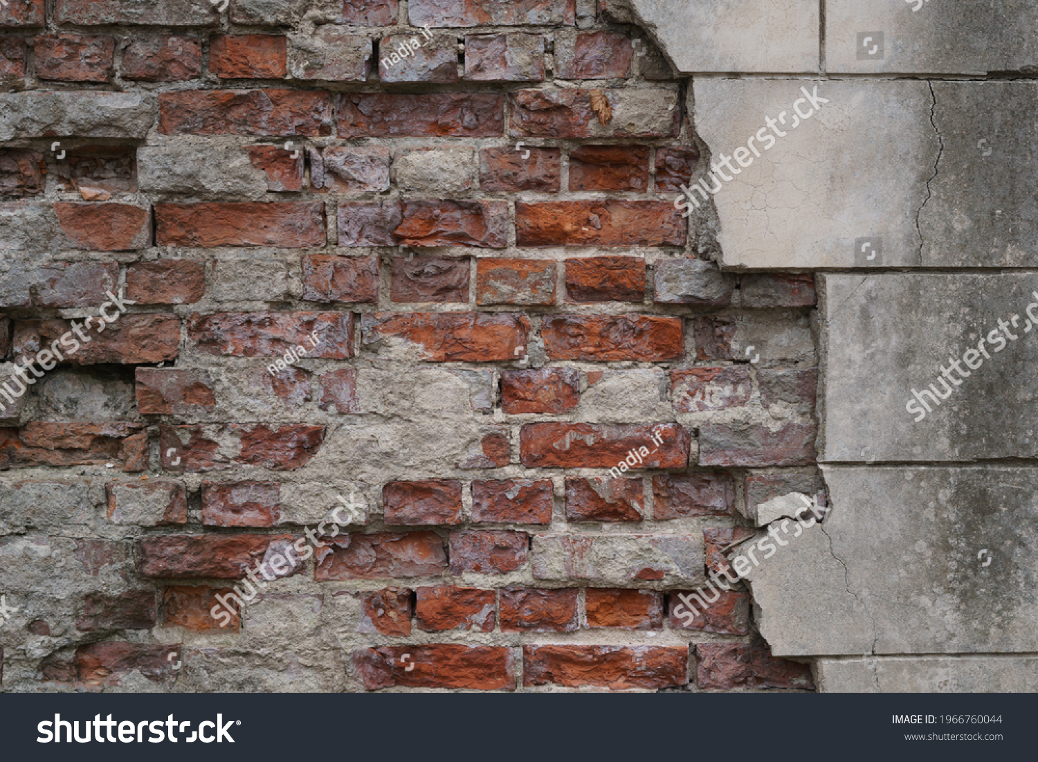 Brick texture for the background. High quality photo #1966760044