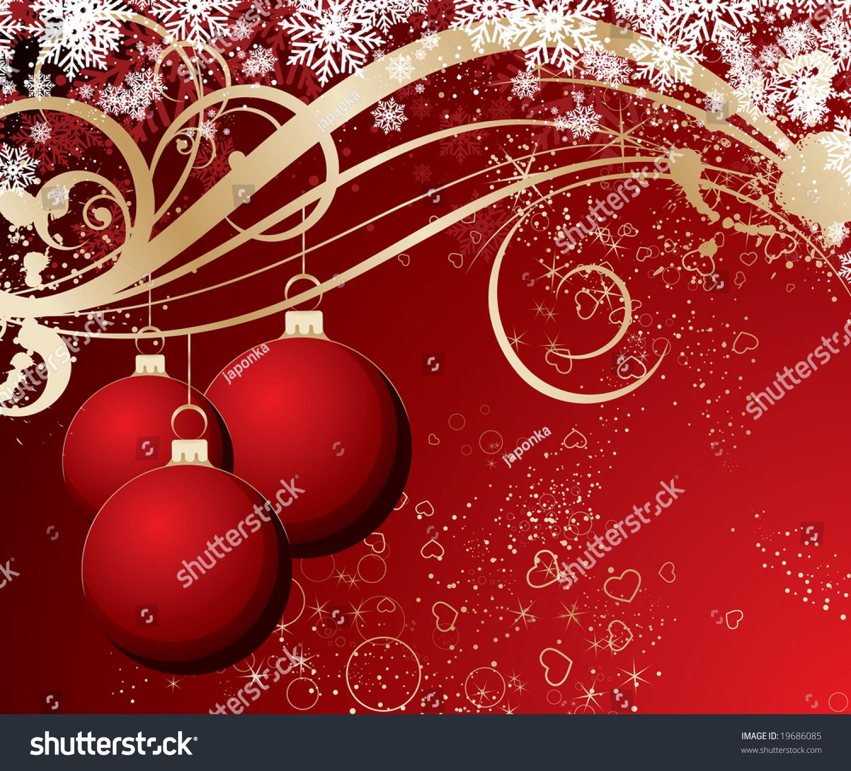 Christmas theme for design stock vector illustration for Christmas theme design