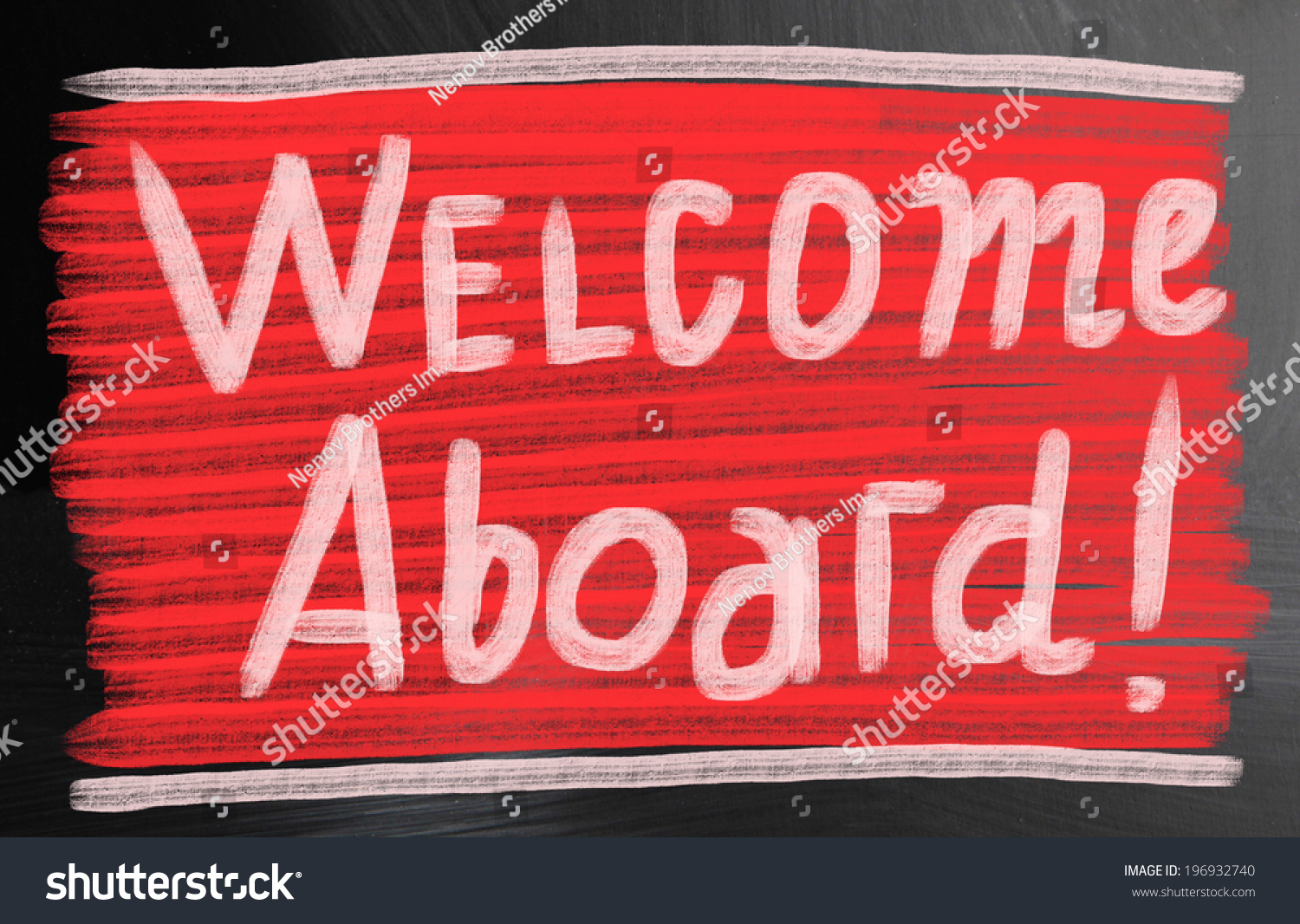 Welcome Aboard Concept Stock Illustration 196932740 Shutterstock