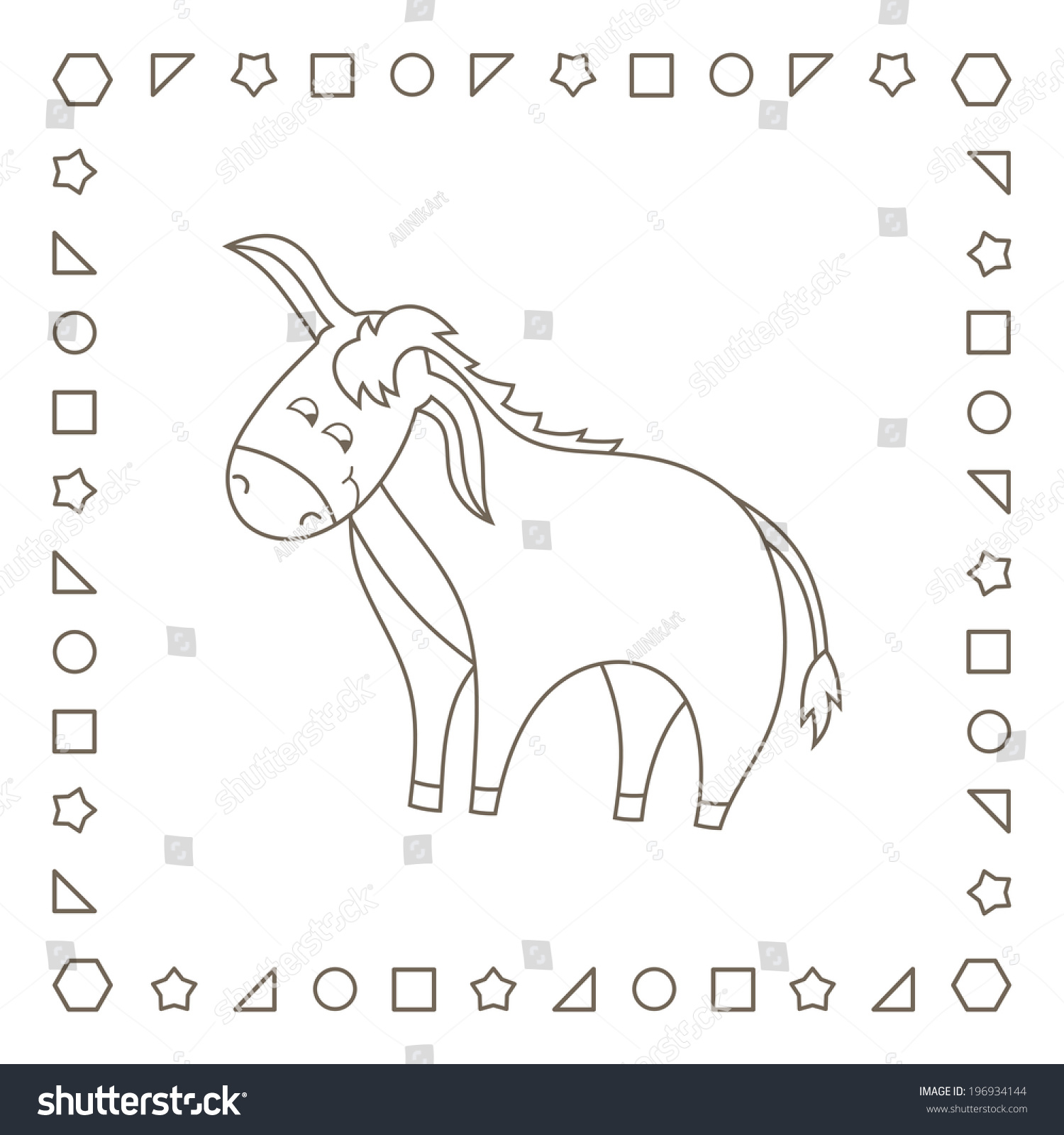 Elephant 3 coloring page | 1600x1500