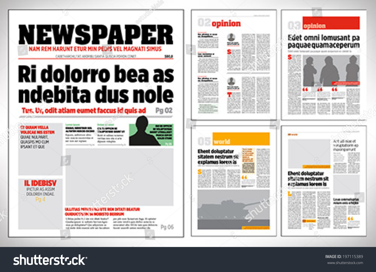 how to make a newspaper ad in indesign