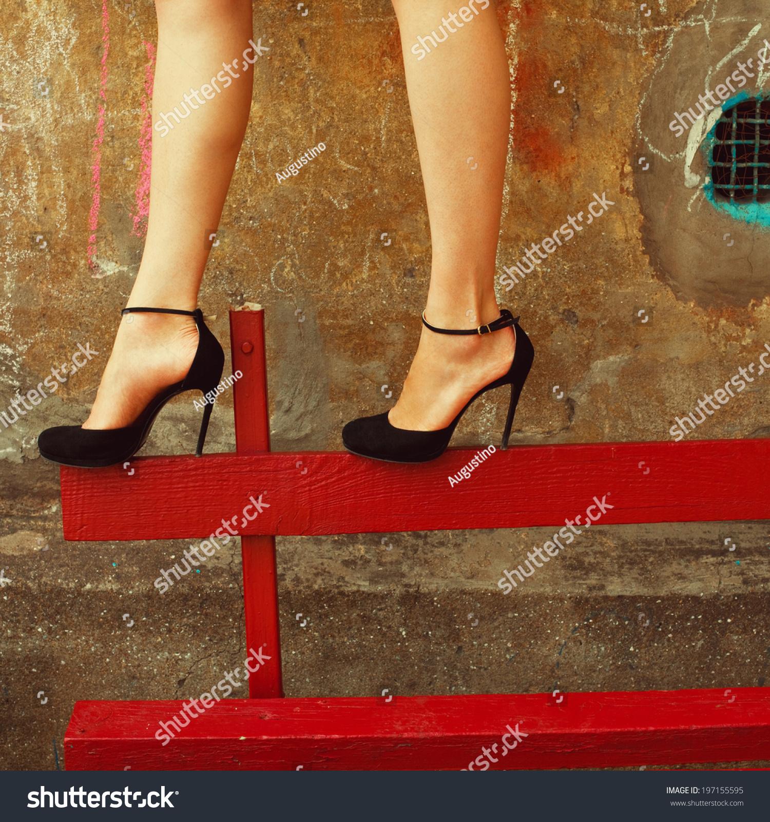 Sexy Legs Heels - Qu Heel