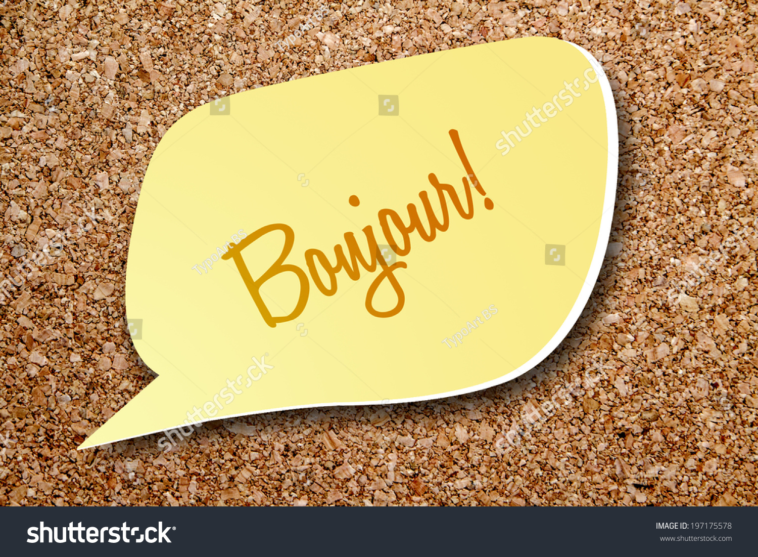 Say Good Morning French Stock Photo Edit Now 197175578 Shutterstock