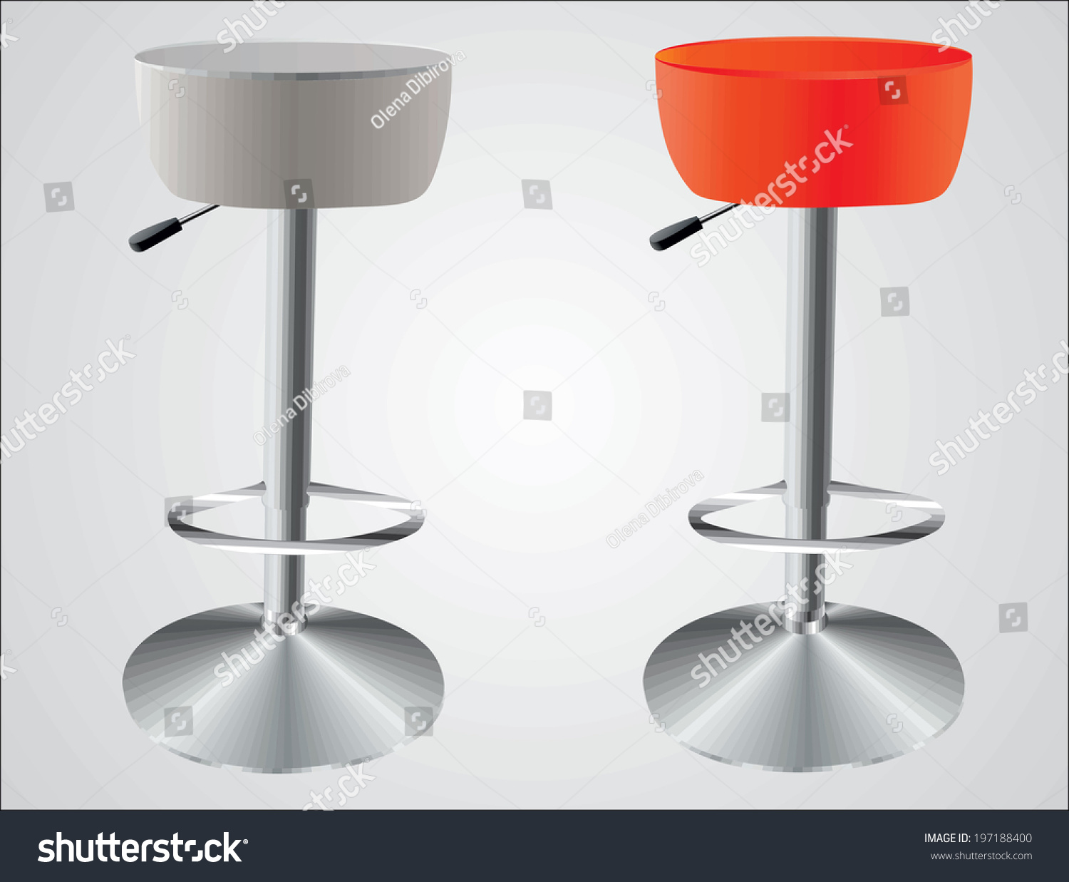Bar Stools Stock Vector 197188400 Shutterstock : stock vector bar stools 197188400 from www.shutterstock.com size 1500 x 1237 jpeg 233kB