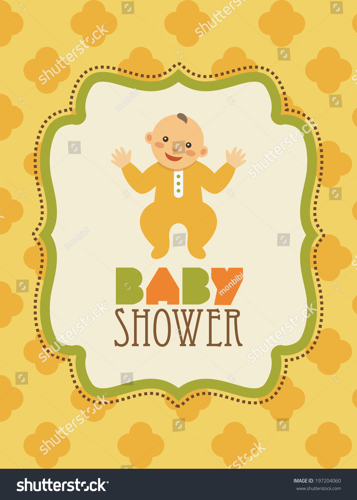 Baby boy arrival card vector by leonart image 600444 vectorstock - Baby Shower Card Vector Illustration 197204060 Wallpaper Gallery Baby Shower Card Vector By Leonart