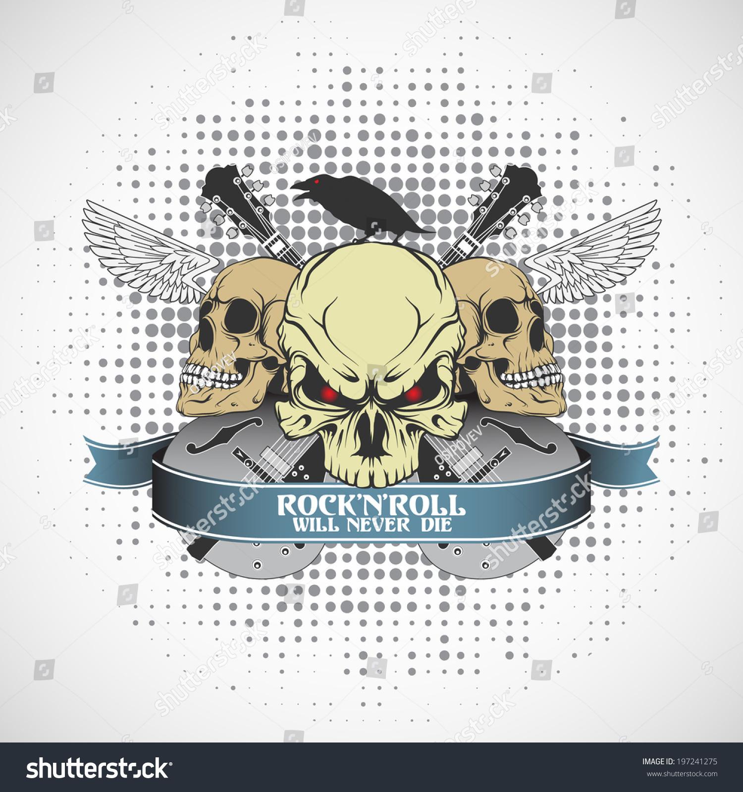 Rock n roll symbol stock vector 197241275 shutterstock rock n roll symbol buycottarizona