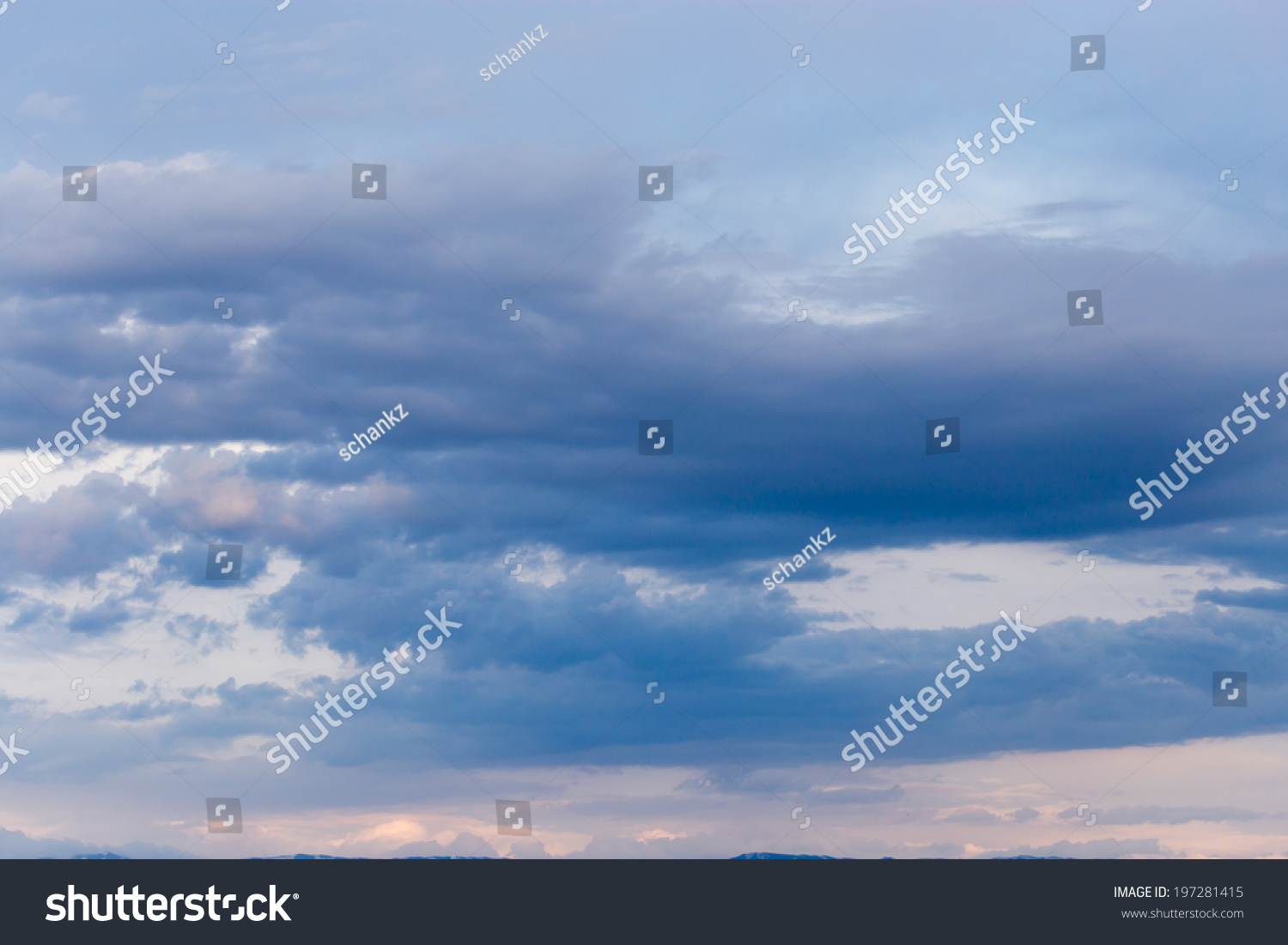 beautiful background of clouds #197281415