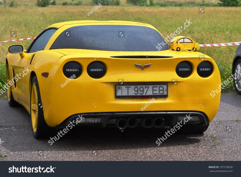 CHERKASSY UKRAINE JUNE 1 Chevrolet Corvette Stock Photo (Edit Now