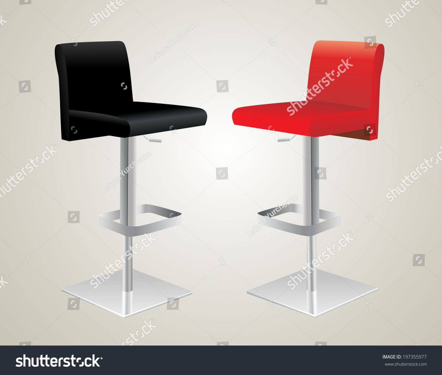 Bar Stools Stock Vector Illustration 197355977 Shutterstock : stock vector bar stools 197355977 from www.shutterstock.com size 1500 x 1273 jpeg 234kB
