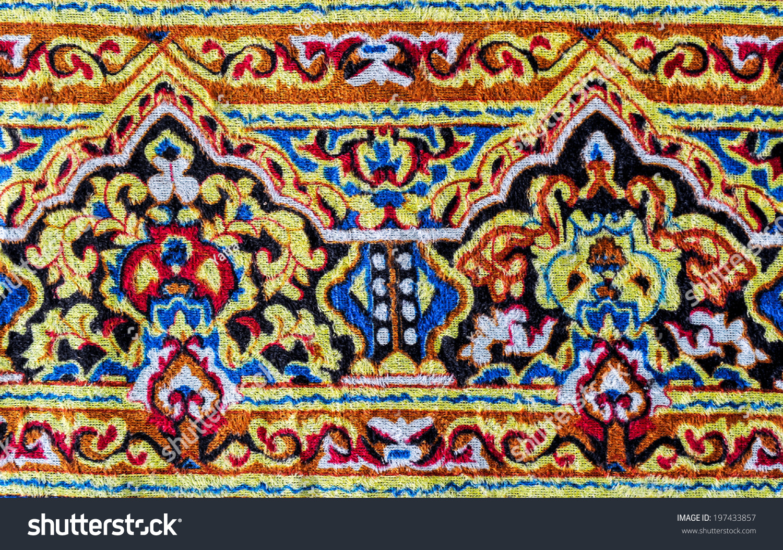 Drawing of carpet design for Drawing of carpet design