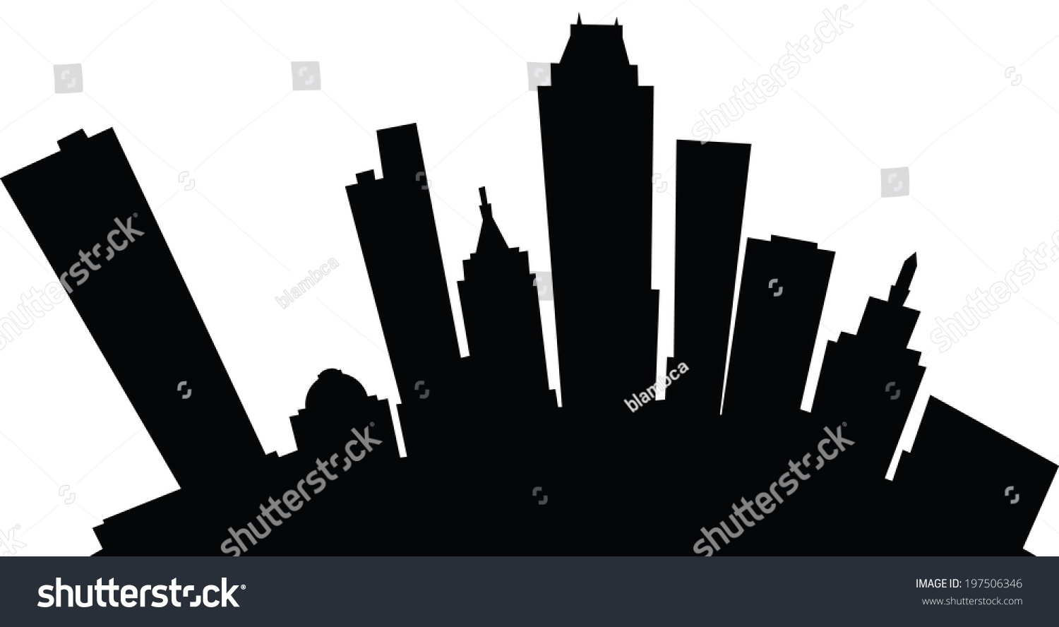 New York City Skyline Outline Sha excelsiororg
