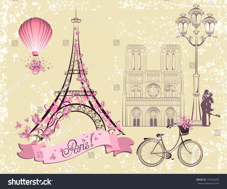 Eiffel Tower Invitation for perfect invitation example