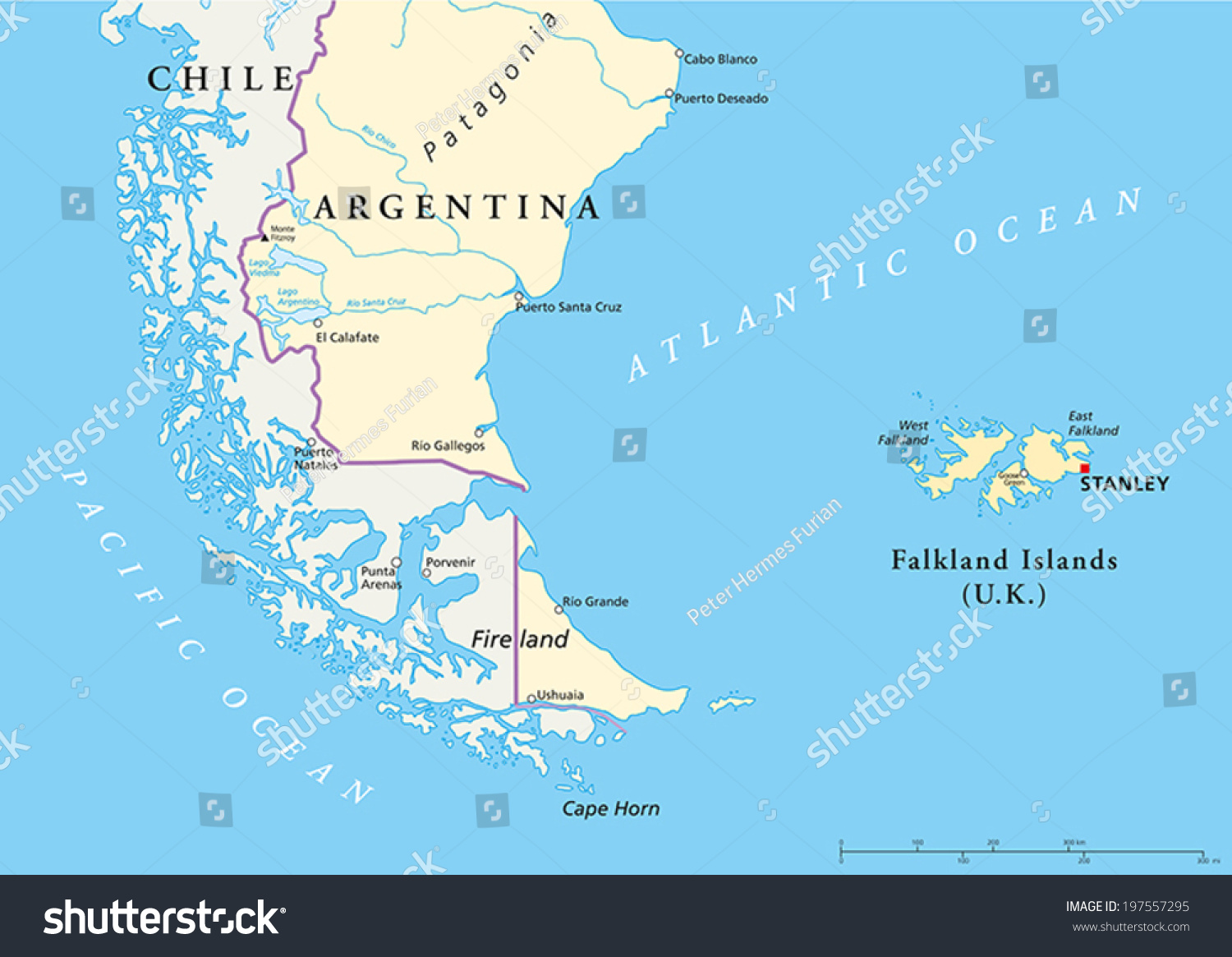 Is Falkland Islands Part Of South America
