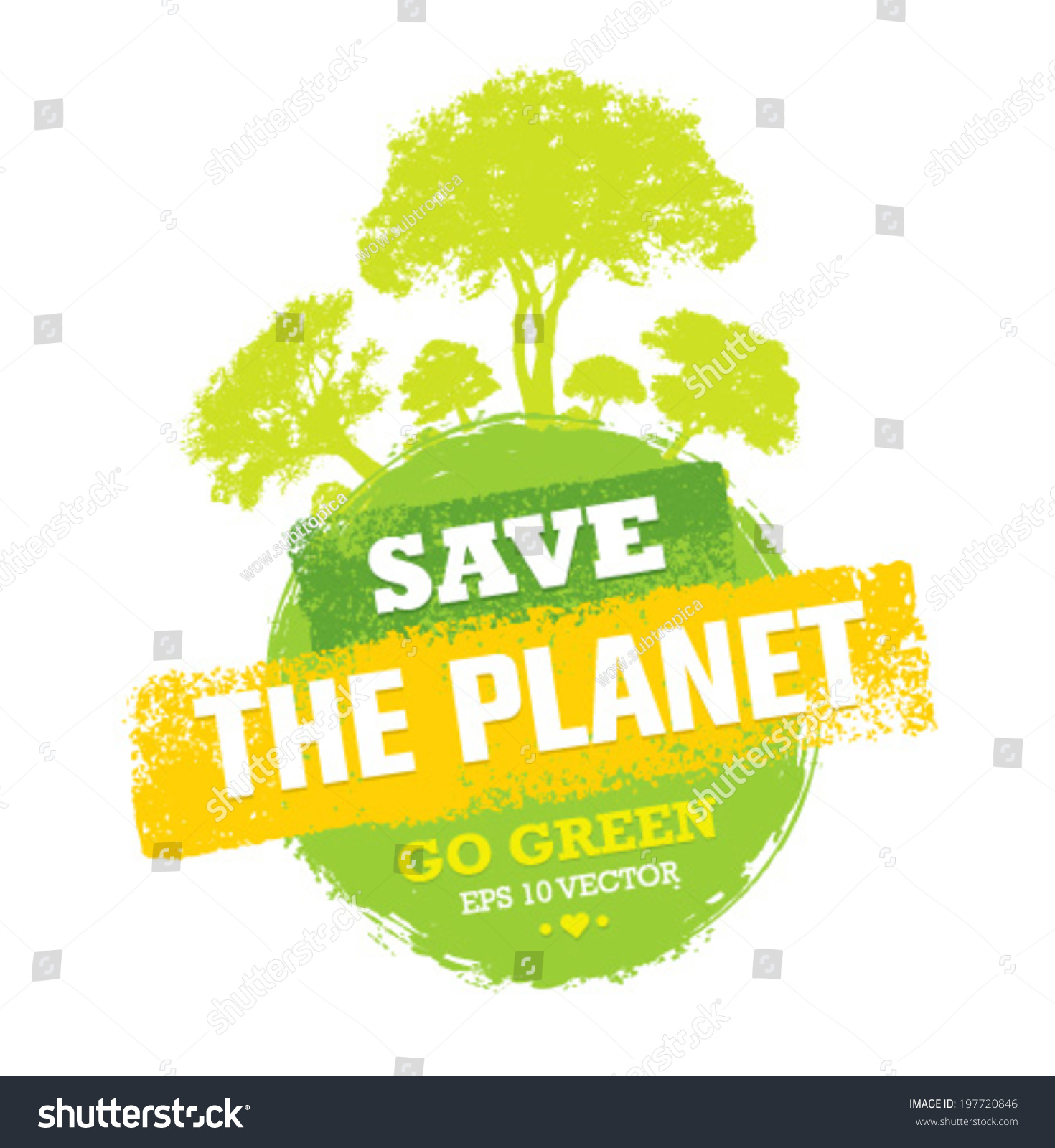 Essay on save trees go green