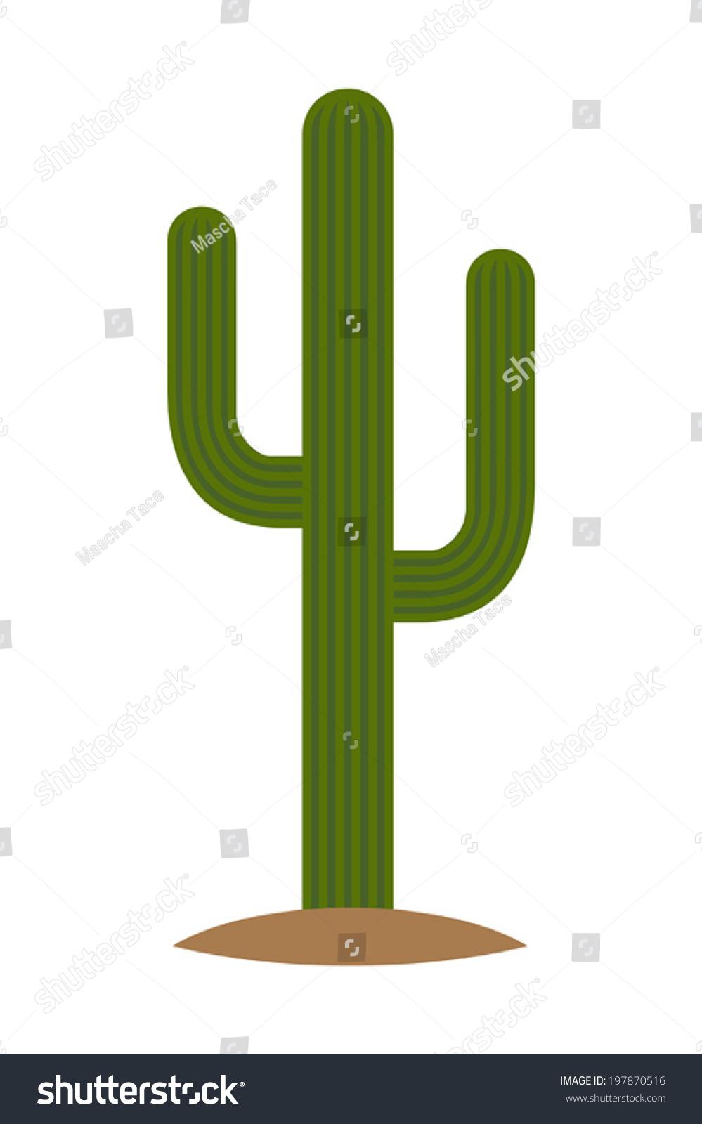 Saguaro Cactus Clip Art saguaro stock vectors & vector clip art ...