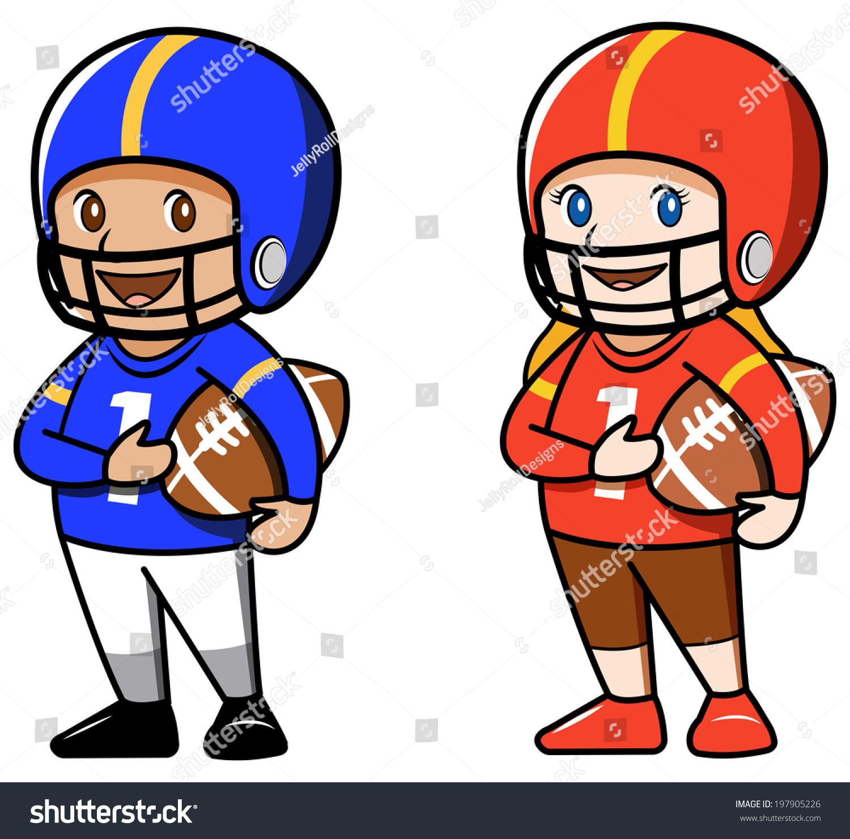 football lineman clipart
