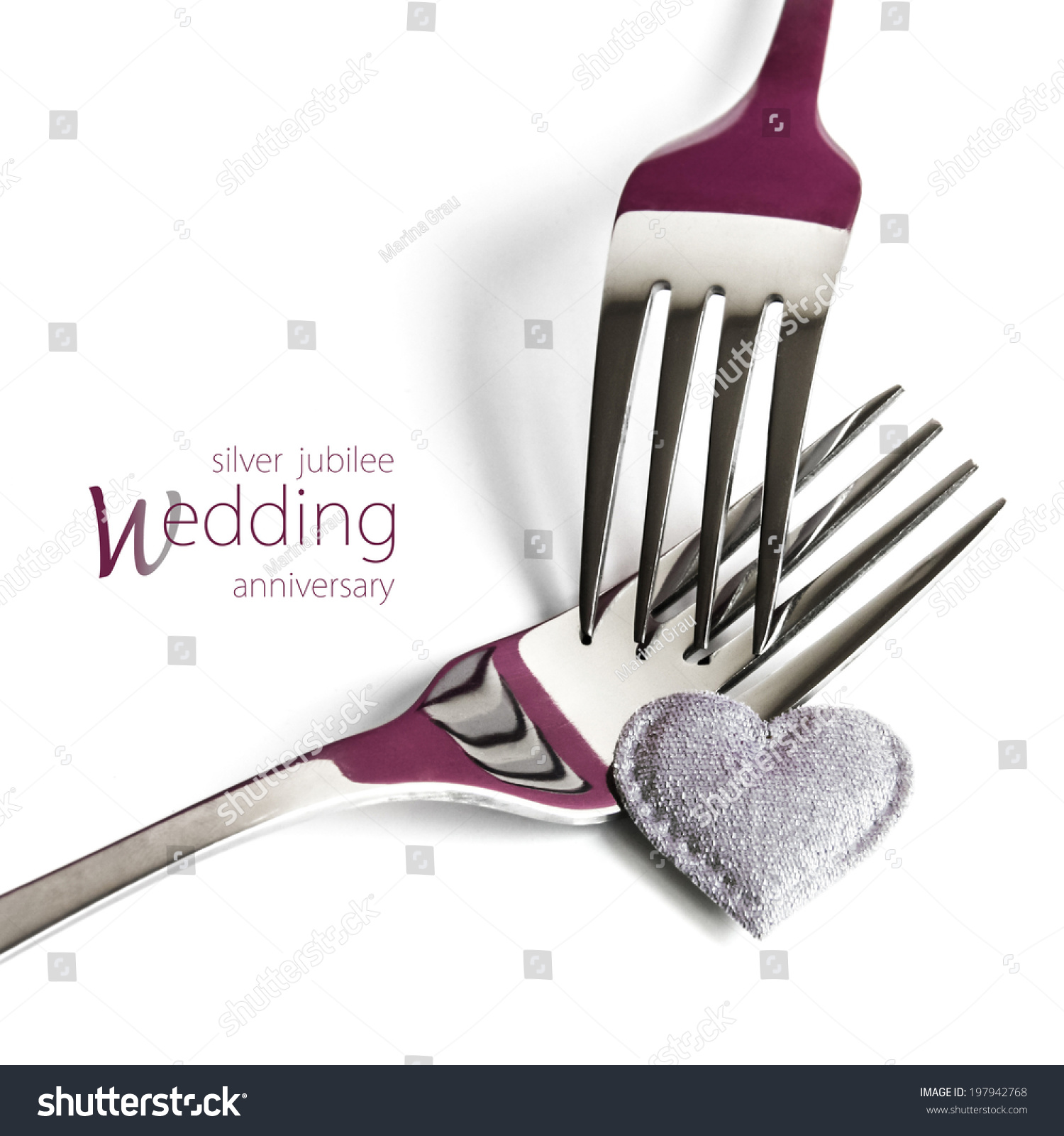 Silver Jubilee Wedding Anniversary Gifts: Conceptual Image Of Silver Jubilee Wedding Anniversary