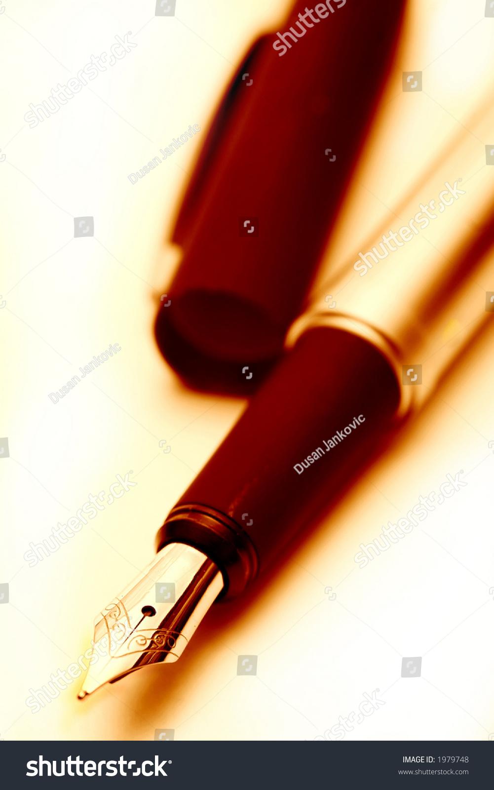 Old Fashioned Pen Oldfashioned Fou...