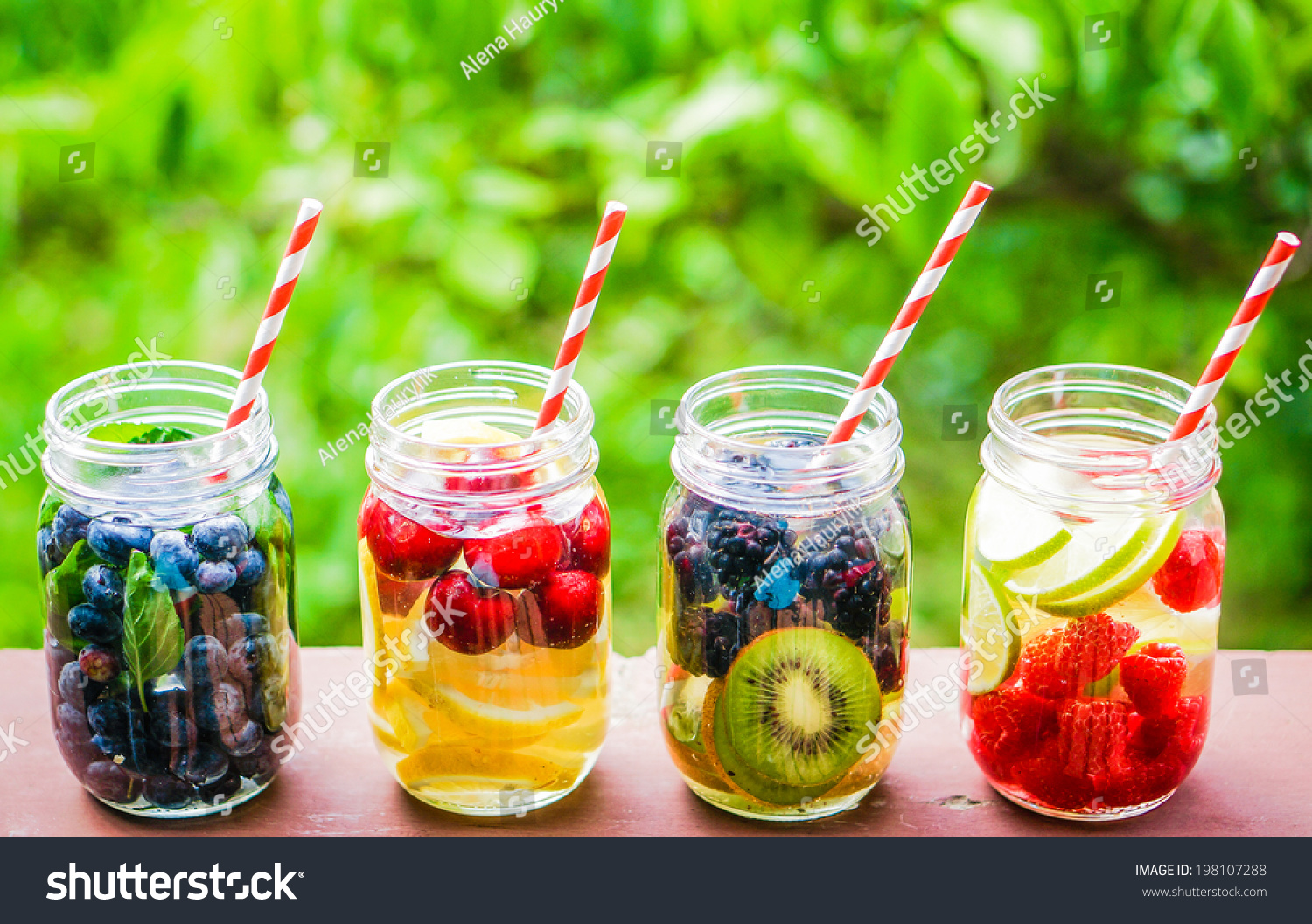 Detox water cocktail stock photo 198107288 shutterstock for Cocktail detox