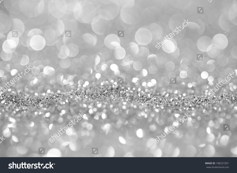Bokeh Abstract Background Wallpaper Silver Diamond For Design