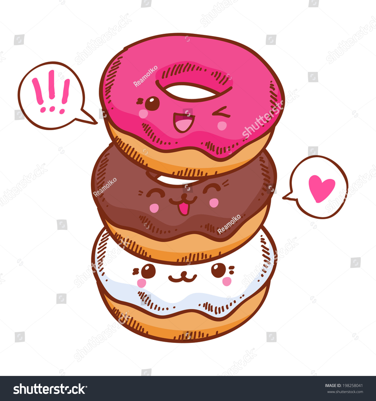 cute doughnut wallpaper
