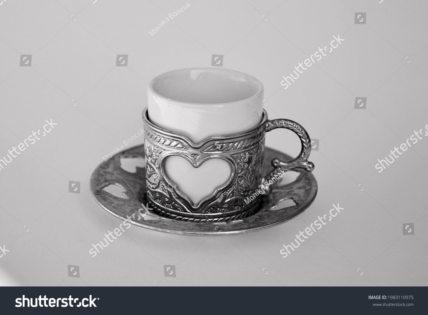 a traditionel cup for good coffee