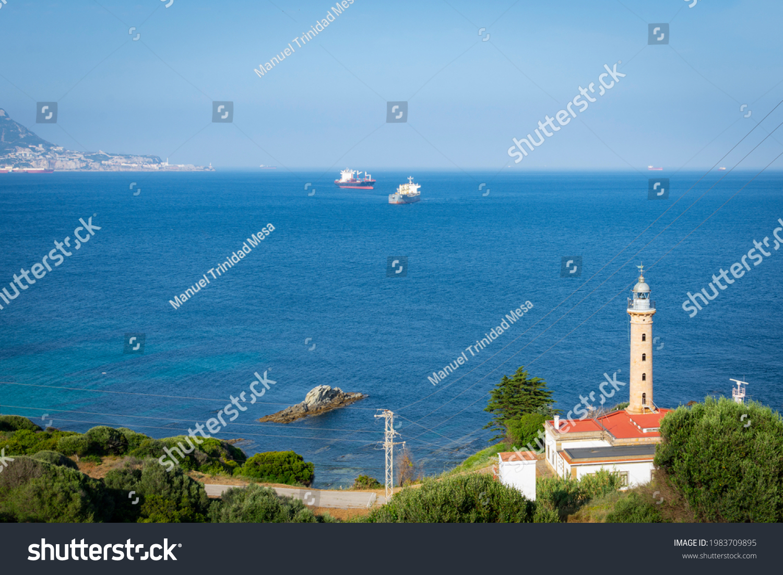 stock-photo-punta-carnero-lighthouse-in-