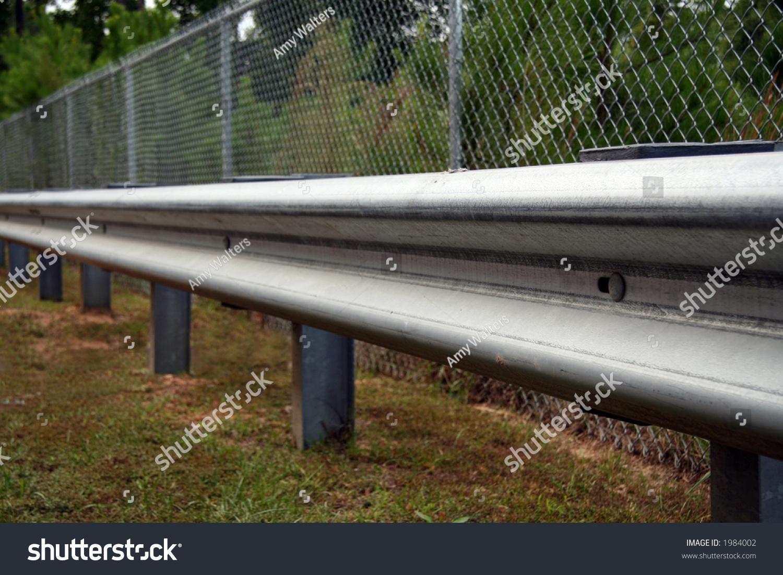 Highway guard rail stock photo  shutterstock