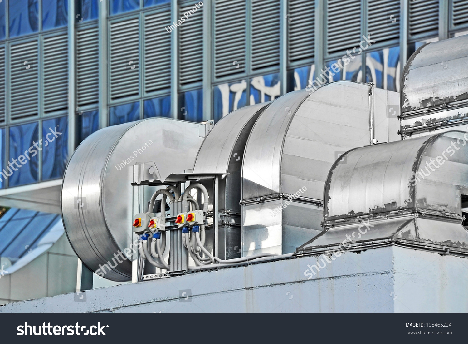 Industrial Air Systems : Industrial air conditioning ventilation systems on stock