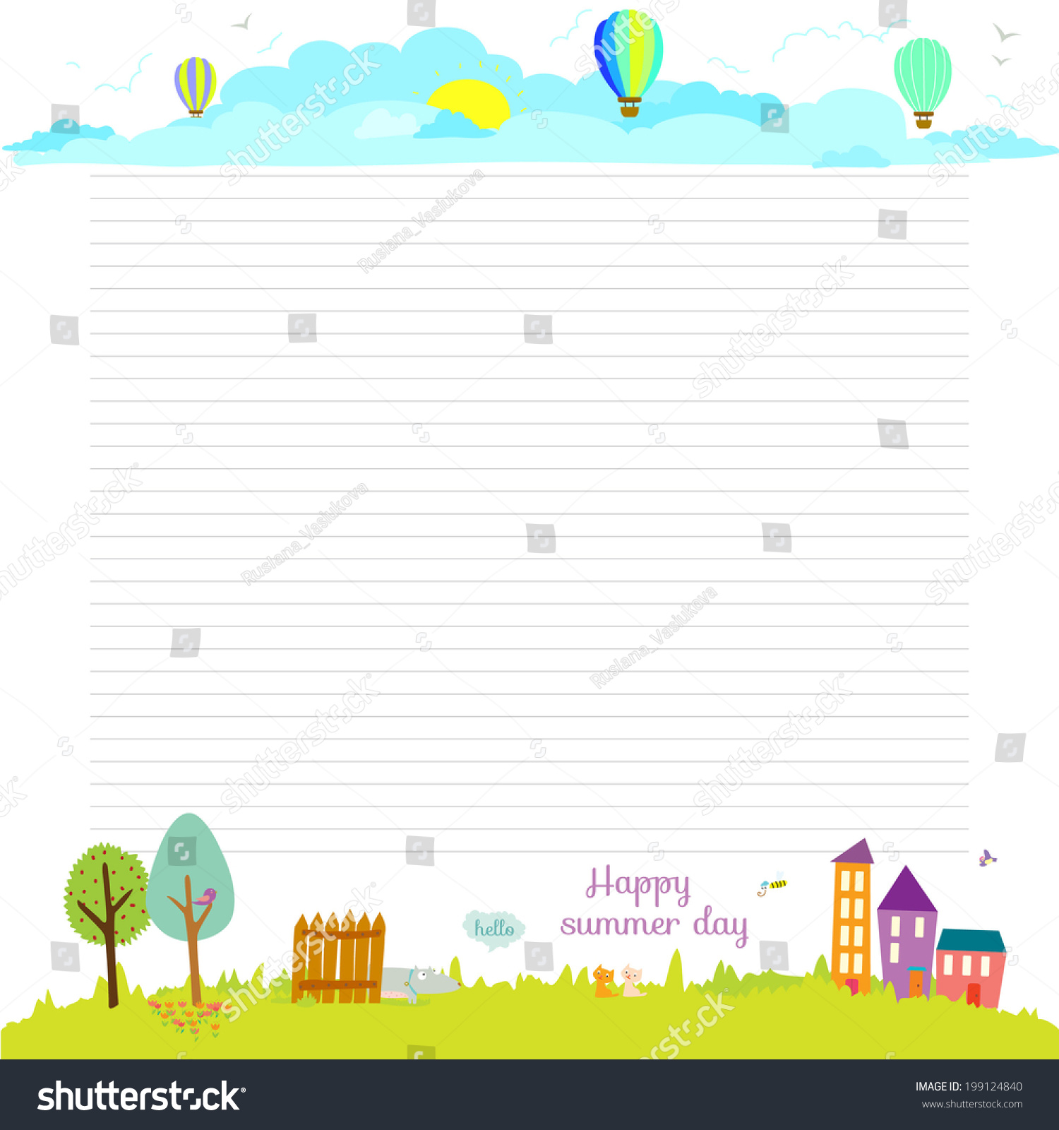 Vector Design Elements Notebook Diary Organizer Vector – Diary Paper Template