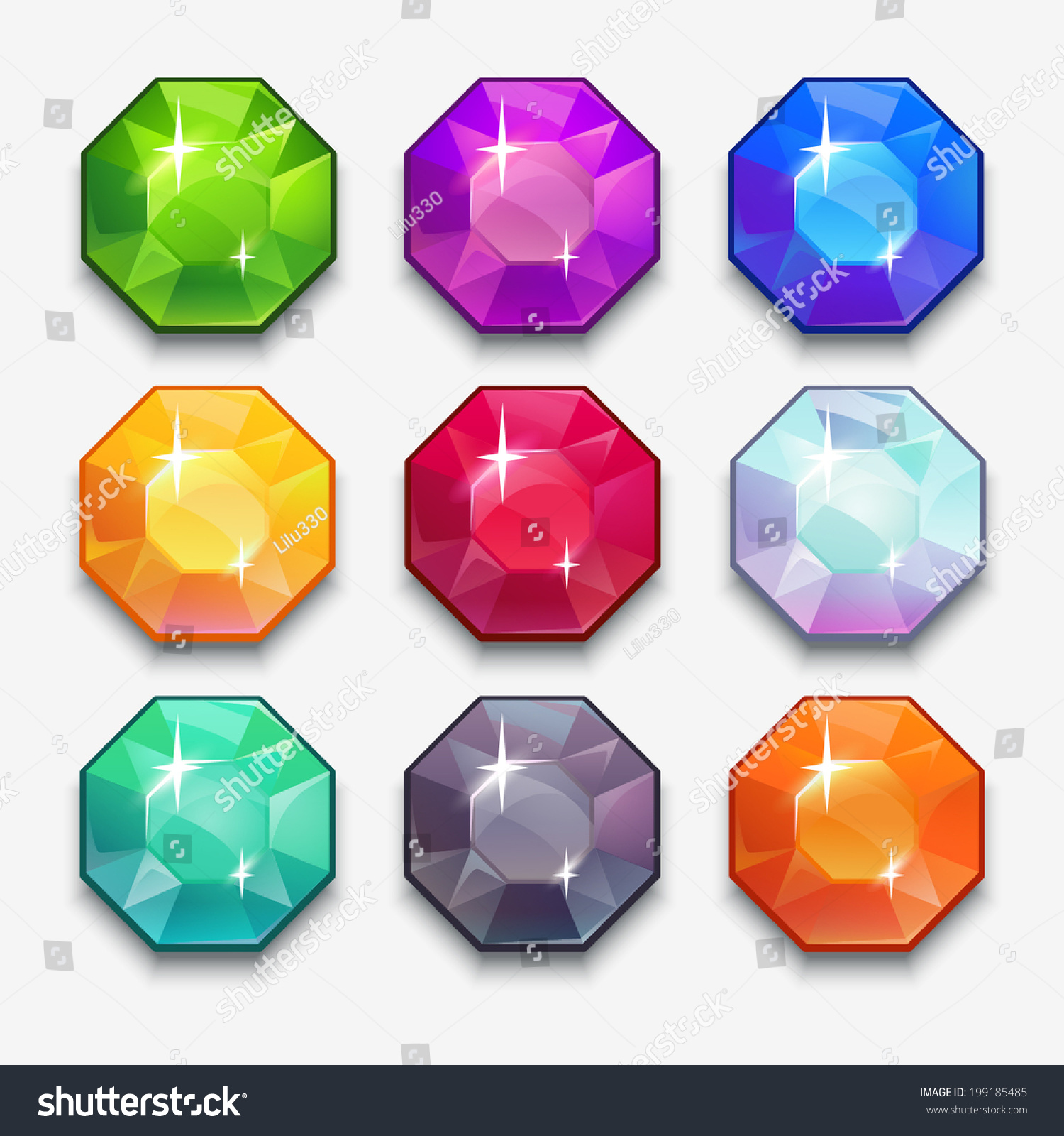 Cartoon Colored Marbles : Genies gems hack updates october at pm