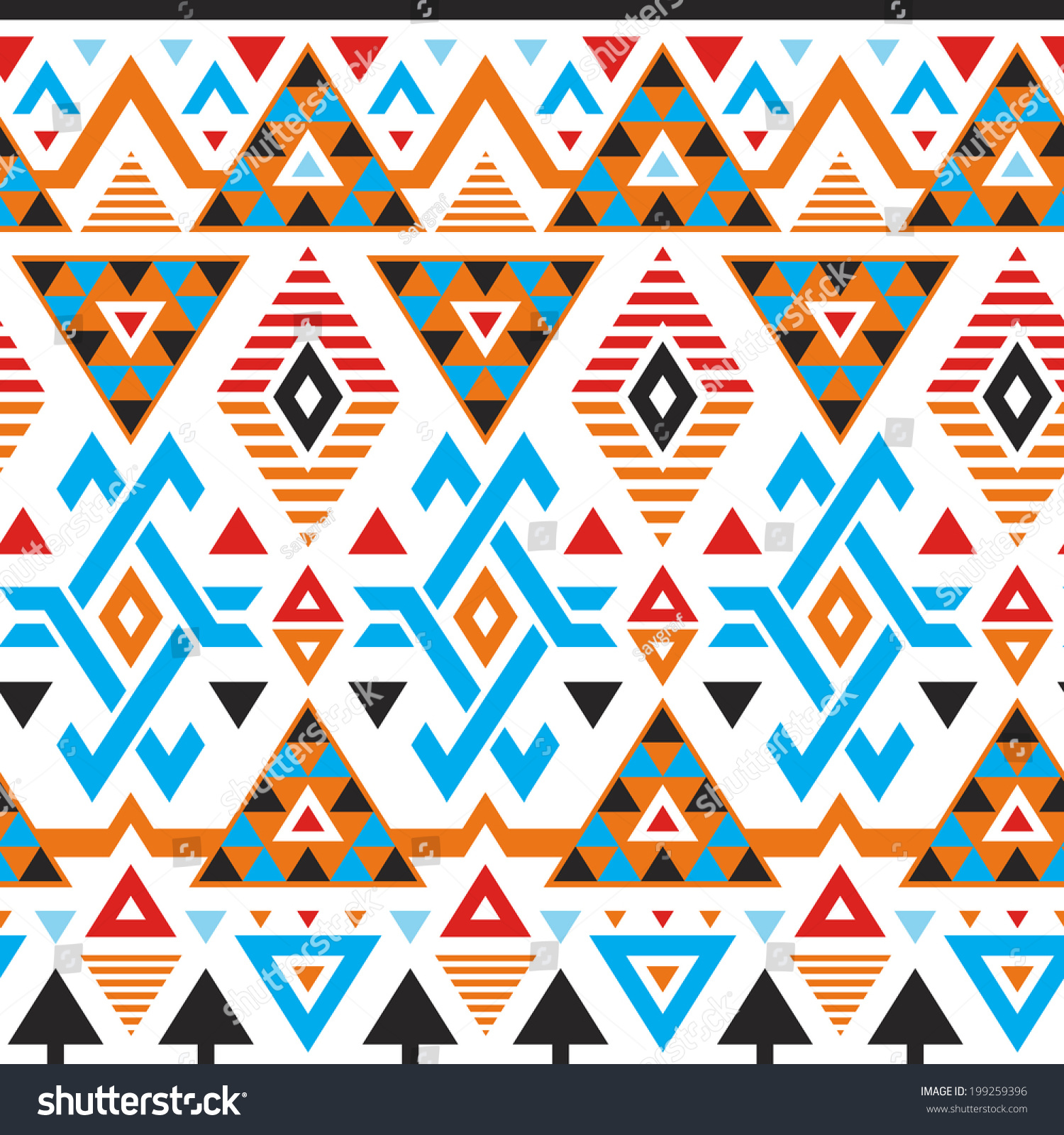 Hawaiian Triangle Tribal Patterns