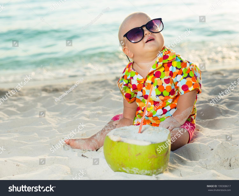 Прикольное фото детей на пляже