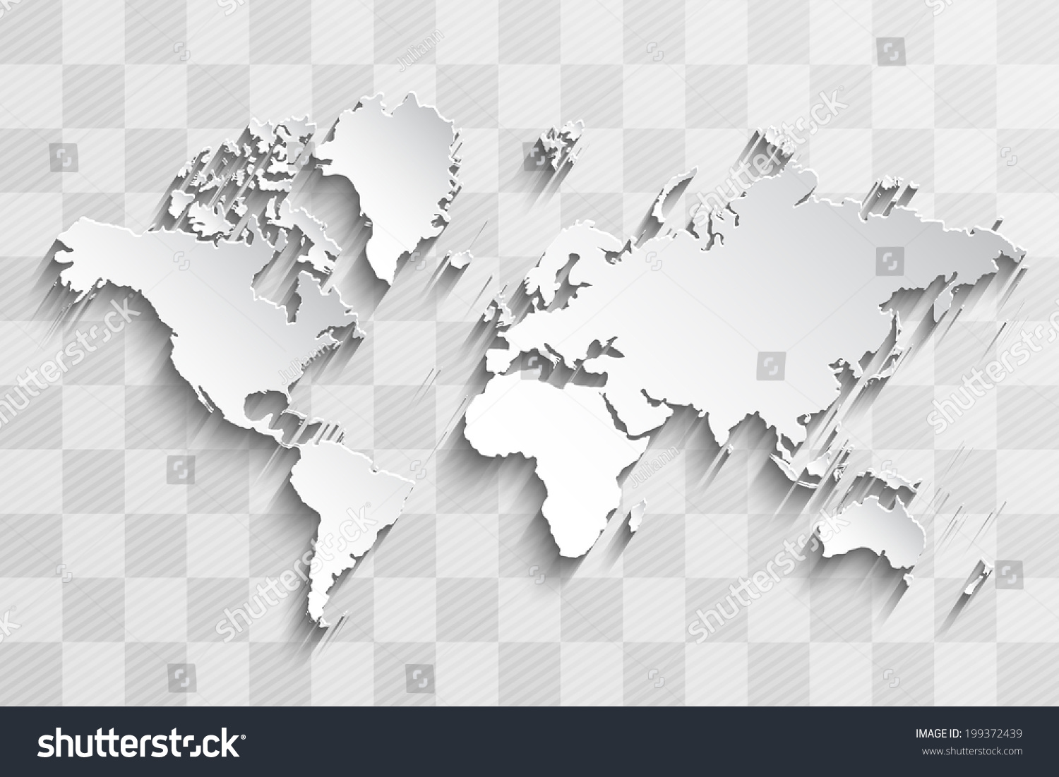 Image vector world map on chess stock vector 199372439 shutterstock image of a vector world map on a chess board gumiabroncs Choice Image