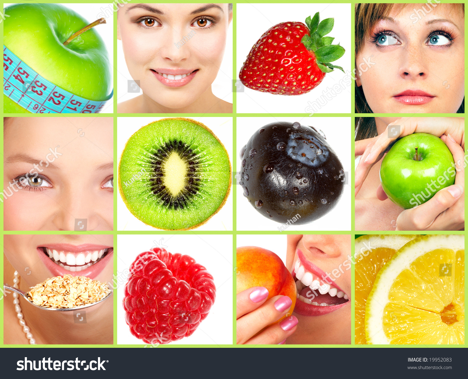 Healthy Lifestyle People Diet Healthy Nutrition Fruits ...