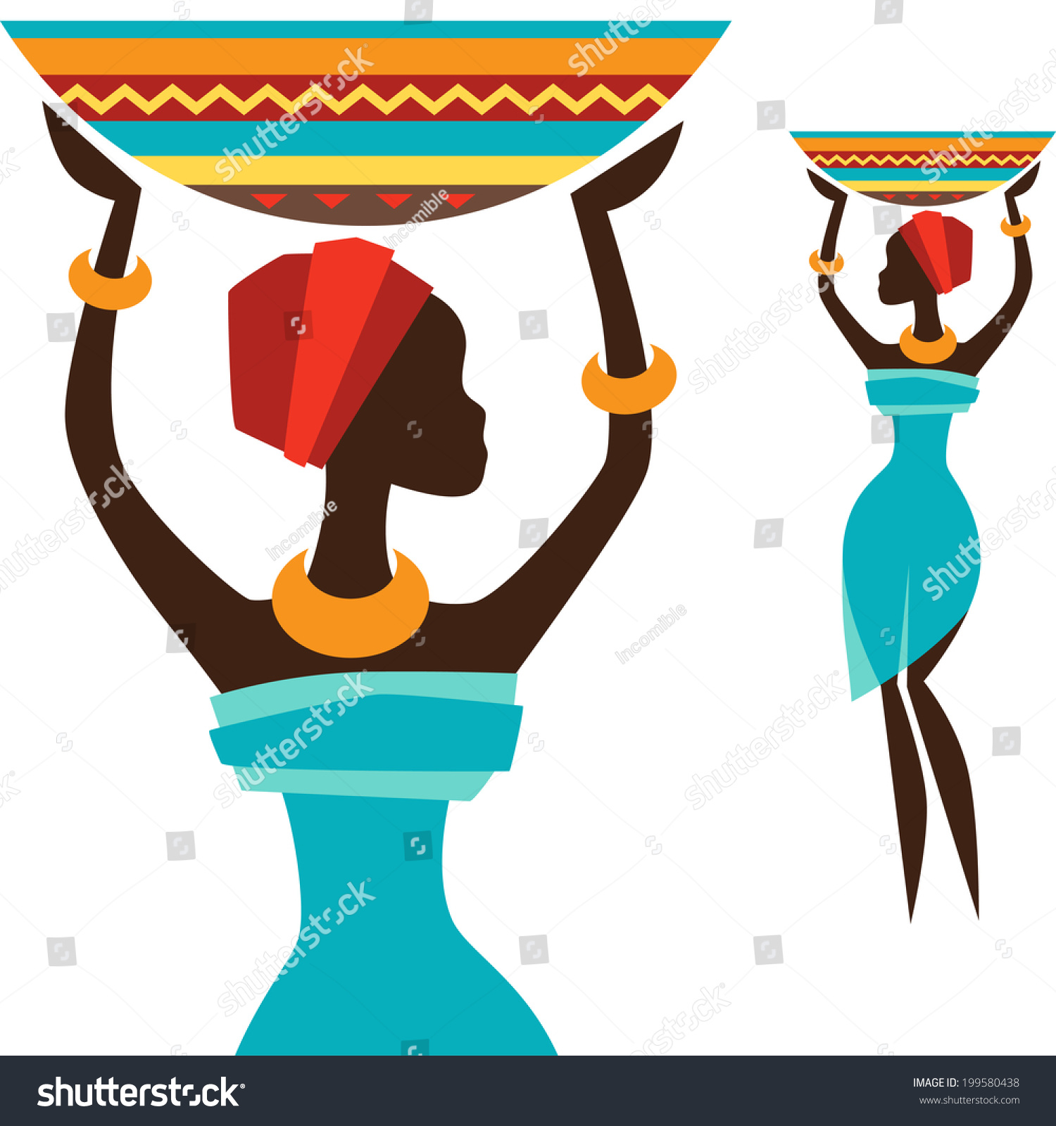 Must see African Traditional Basket - stock-vector-silhouette-of-african-girl-which-carries-basket-199580438  Pictures_139267.jpg