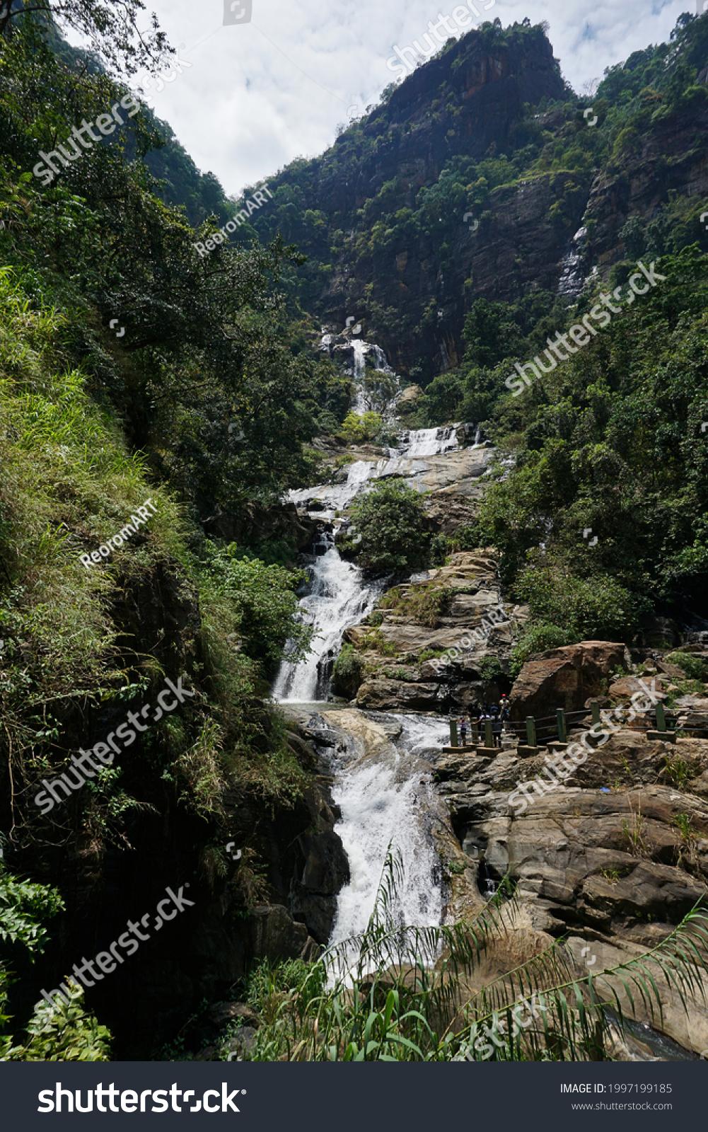 stock-photo-ravana-falls-in-ella-sri-lan