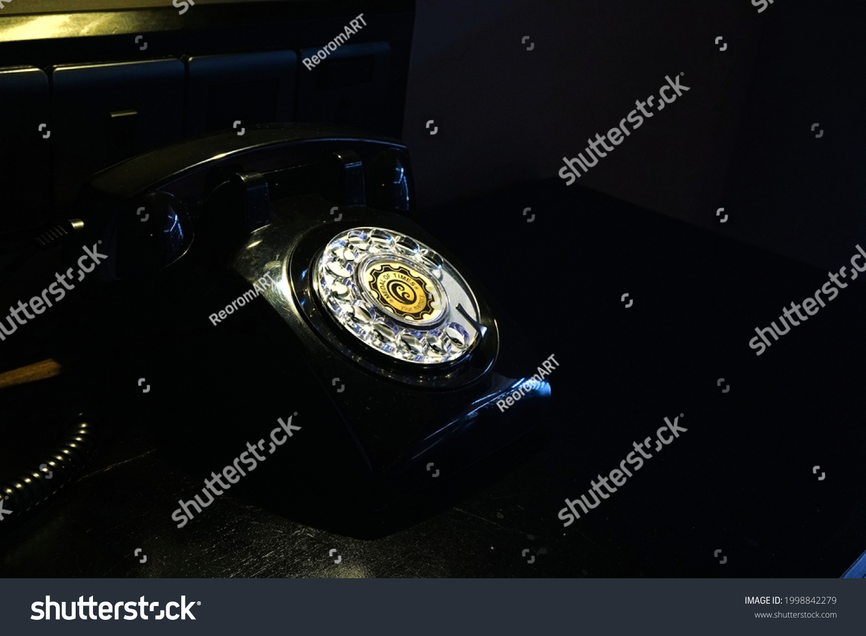Old telephone in Echo hotel, Ella, Sri Lanka on 01.09.2020