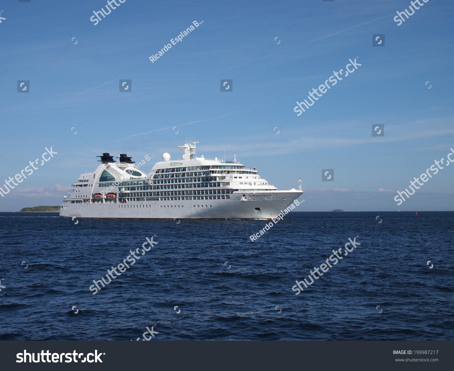 Copenhagen May Luxury Cruise Ship Stock Photo - Cruise ship copenhagen