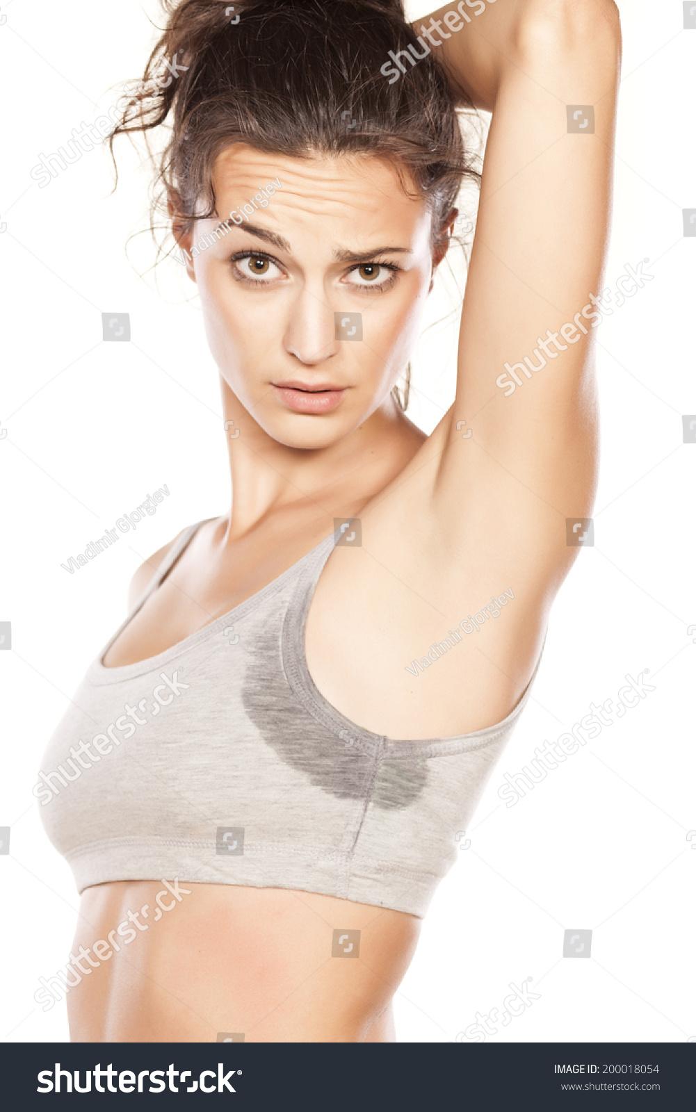 Sexy banker girl in shiny tan pantyhose 1