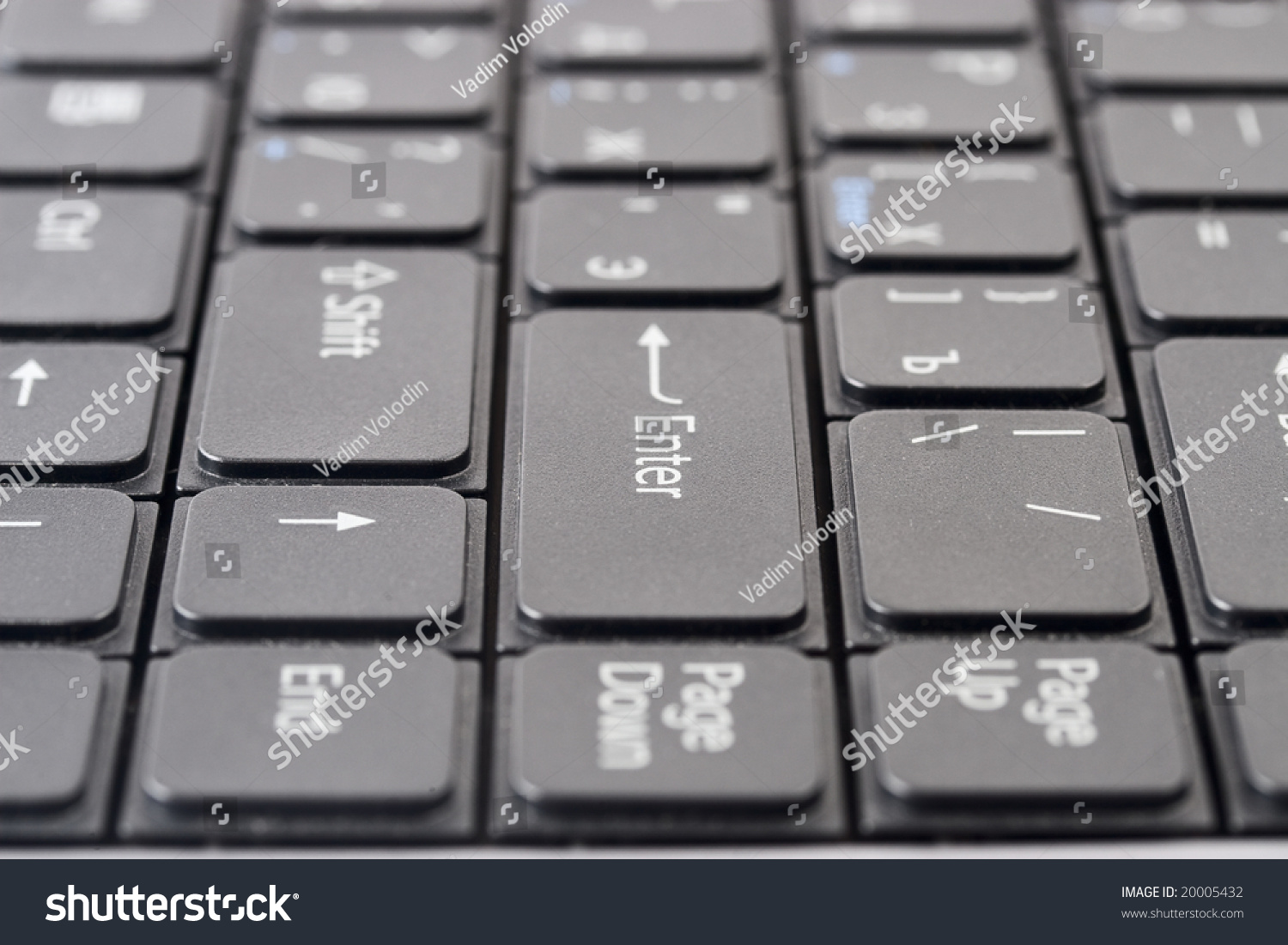 Laptop Black Keyboard With Symbols On Button Ez Canvas