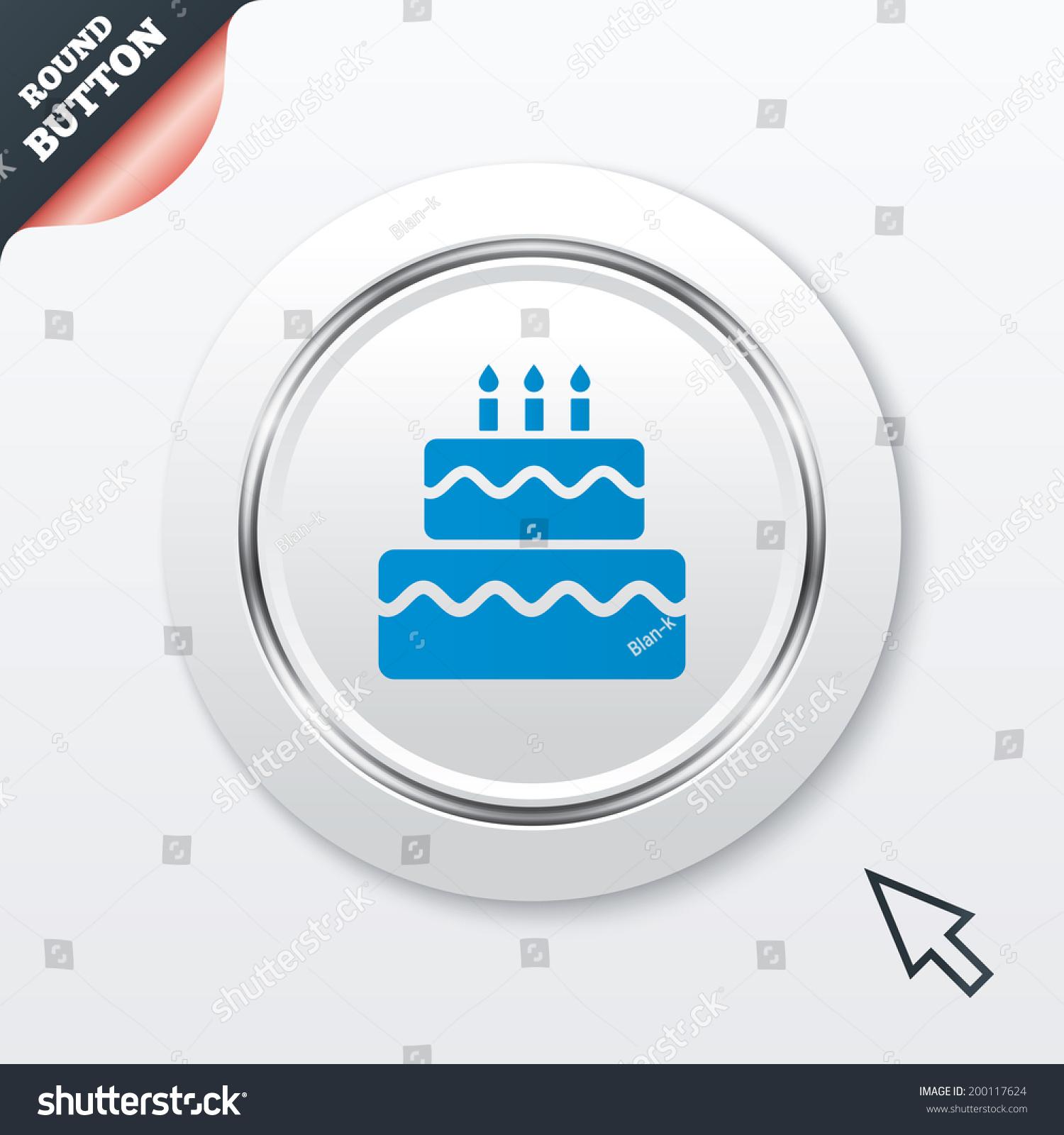 Birthday cake with keyboard symbols image collections symbol and birthday cake sign icon cake burning stock illustration 200117624 birthday cake sign icon cake with burning biocorpaavc