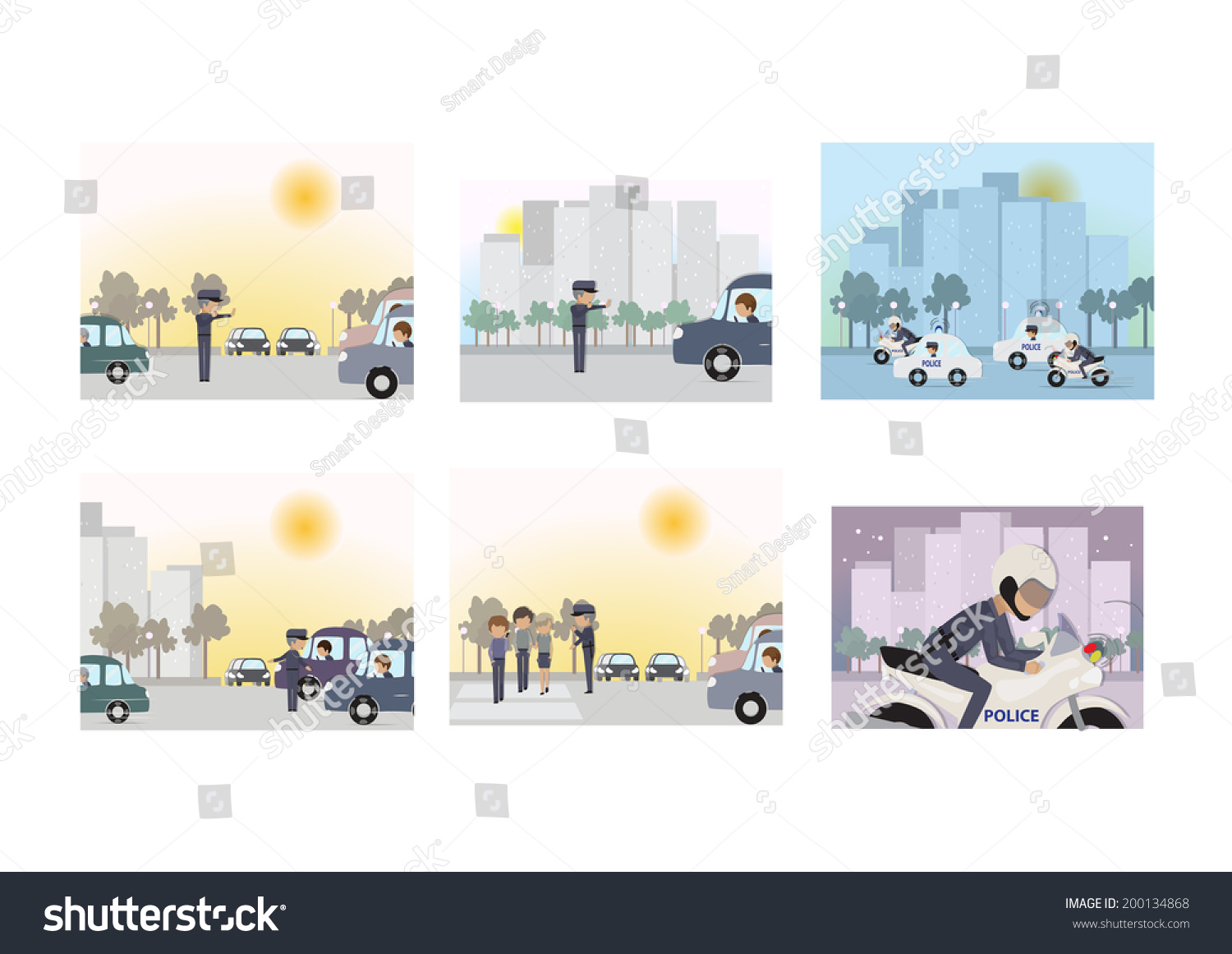 Police - Public Safety and Security… Stock Photo 200134868