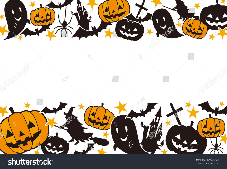 halloween frame stock vector (royalty free) 200200424 - shutterstock