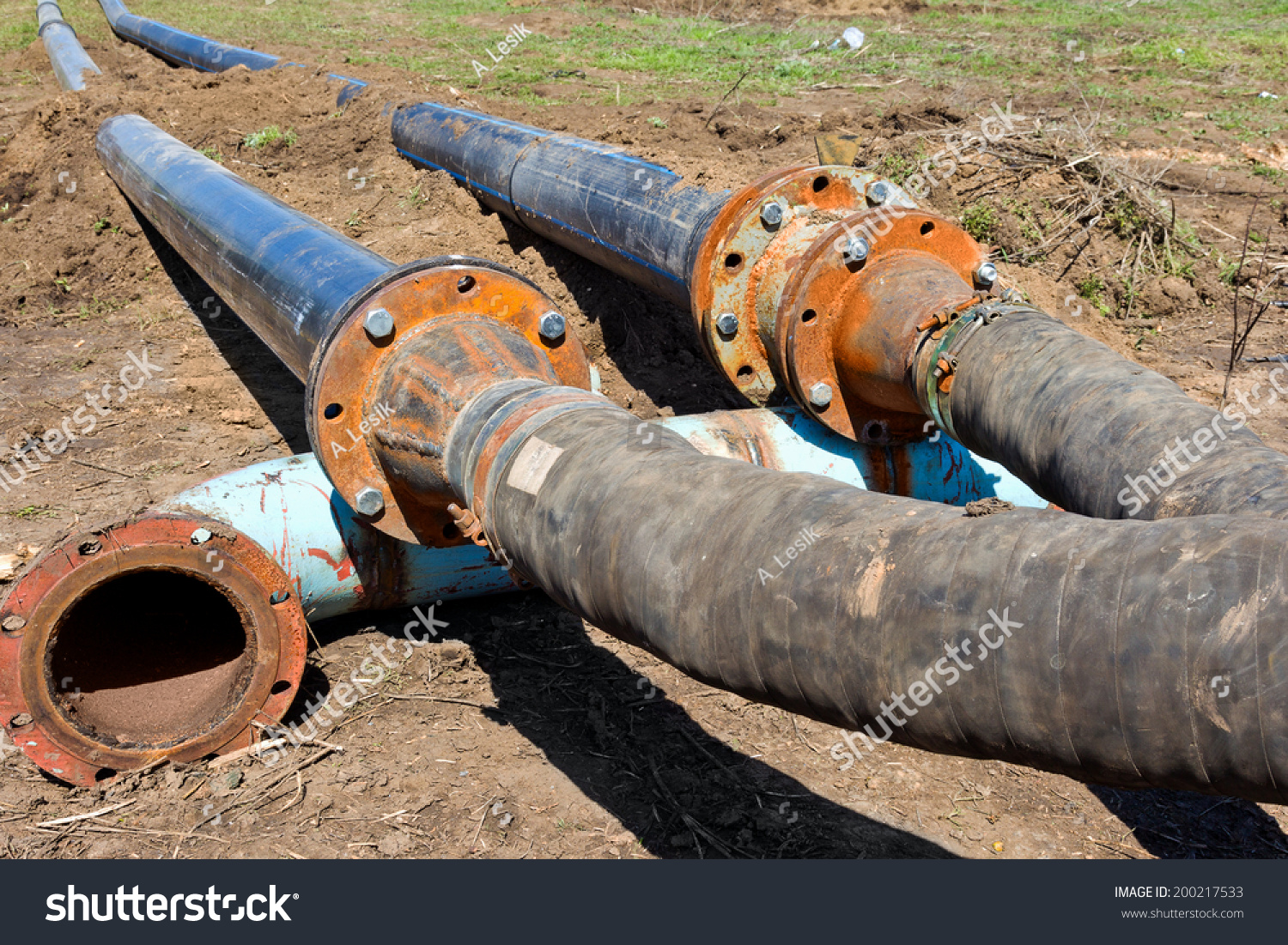 Sewage pumping station accident environmental man made for What are old plumbing pipes made of