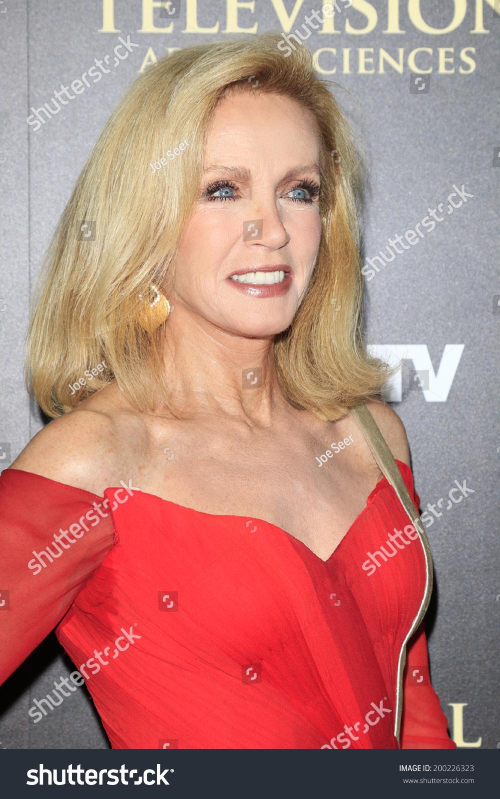 Beverly Hills Jun 22 Donna Mills Stock Photo (Royalty Free ...