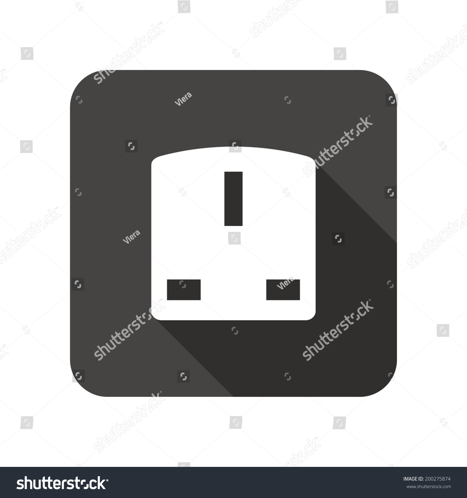 Plug Power Stock Quote: Electric Plug Sign Power Energy Symbol Stock Vector